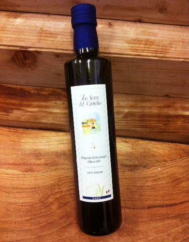 Calabrian Organic Cold Pressed Extra Virgin Olive Oil 0.5 Ltr