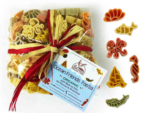 ORGANIC Ocean Friends (Colourful Pasta) 250g