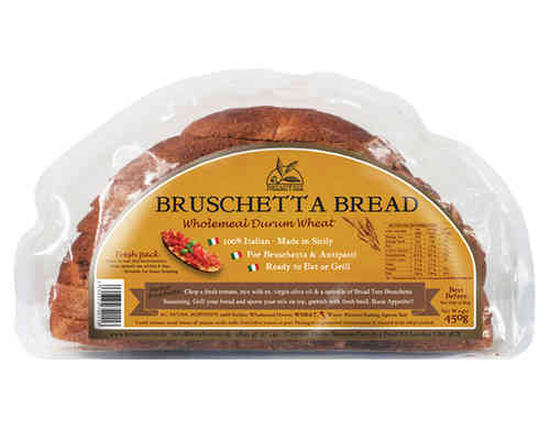 Sicilian Wholemeal Bruschetta Bread 450g