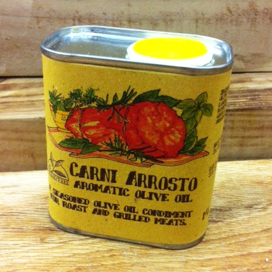 CARNI ARROSTO - Aromatic Olive Oil for Roast Meat 175ml Tin