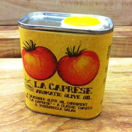 LA CAPRESE - Aromatic Olive Oil for Salads 175ml Tin